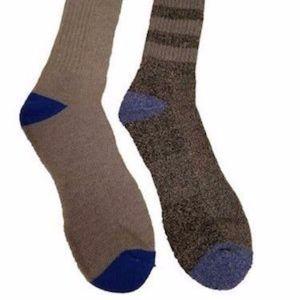 2 pack Performance Outdoor Wool-Blend Crew Socks